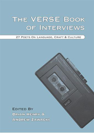 The Verse Book of Interviews by Andrew Zawacki