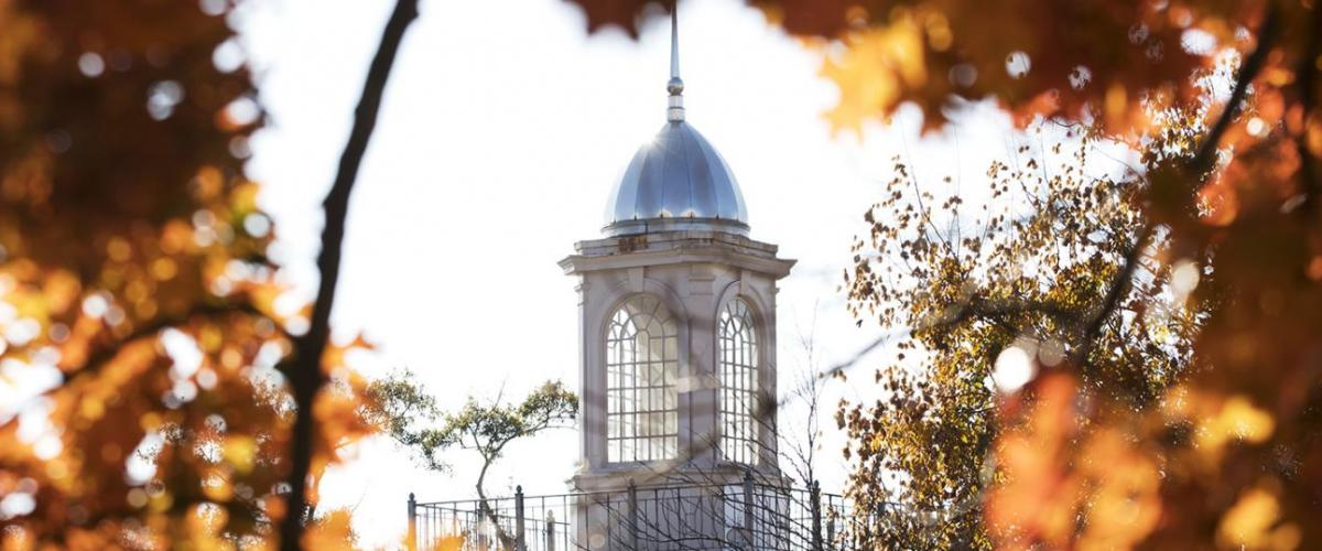 Park Hall Cupola in the Fall