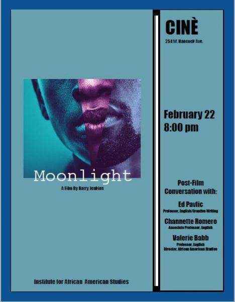 poster for Moonlight special screening